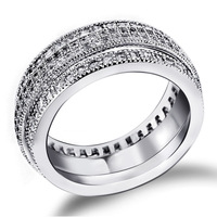 new arrival 2013 Bridal Styles Promise rings  AAA Grade Zirconia Crystals Allergy Free Plating Wedding & Anniversary Gifts