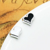Magnet stud earring love fashion heart shaped stud earring women's stud earring magnet