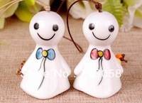 FREE SHIPPING 1pcs high quality traditional mascot china windbell pendant pottery and porcelain type 10