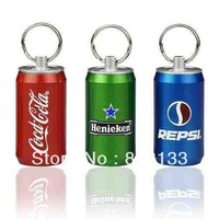 Retail genuine 4G/8G/16G/32G usb drive pen drive usb flash drive coke bottle cans metal Gift Free shipping+Drop shipping