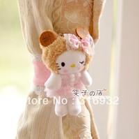 C2 Cute Cookies Cookie hello kitty Plush Curtain Buckle, good qualitiy, 1 pair