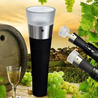 Red wine stainless steel vacuum plug vacuum bottle stopper wine bottle stopper wine stopper wine