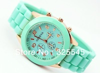 Jelly watch sports watch Students waterproof sports watch Free shipping