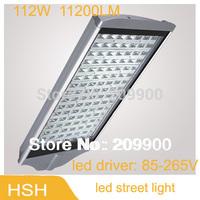 112W 11200lm LED outdoor lighting led street lights led road lamp CE&RoHS 2pcs/lot Free Shipping  FEDEX