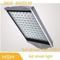 84W led street light led road light LED outdoor lighting AC85V-265V High quality high brightness 2pcs/lot Free Shipping