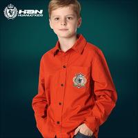 High quality original brand,Children boy long-sleeve shirt,kids 100% cotton fashion shirt,teenager clothing,4 colors,Y55