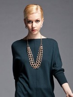 Free Shipping! Mix order $10 new chain necklace trendy jewelry for necklace women in best price 3pc a lot