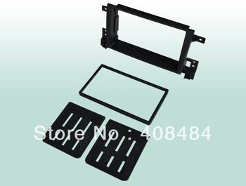 Fascia 2DIN Panel Car Audio Panel Frame Dash Kit For SUZUKI GRAND VITARA JP 06~13 For Wholesale/Lot Free Shipping