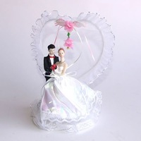 Cake stand lilliputian wedding decoration props wedding gift flower lilliputian flowers white wedding