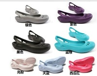 FREE SHIPPING 2013 newest Wonderful NWT Lady Girl Malindi flat shoes Sandals Slingback  shoes Women's  W6 W7 W8 W9