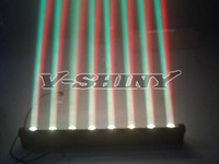 Free Shipping quad-color Cree led moving head wall washer light light