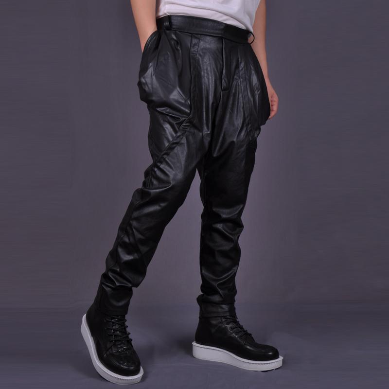 leather harem pants men - photo #1