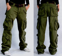 Military 2013 outdoor trousers sports overalls male casual multi-pocket trousers pants trousers roller pants