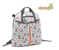 Germany Brand Professional fashion large capacity canvas nappy bag mother ba baby bag backpack triangle set