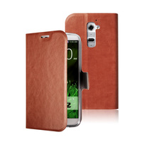 oily leather for LG G2 case mobile phone case  protect case leather case  free shipping