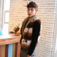 Men's clothing autumn 2013 male vest spring and autumn trend slim vest male casual sweater vest