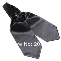 solid silk Men Silk Cravat Adult Casual Ties for man gift