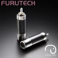Ancient furutech cf-102 r carbon fiber rca plug