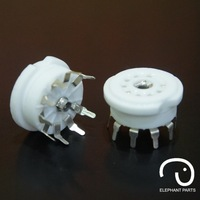 Silveriness gzc9-y f879-2002a electronic pcb 9p tube socket