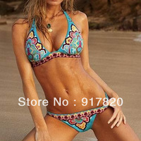 SECRET HALTER MULTI COLOR SWIM WEAR BIKINI SETS Size S M L Free Shipping