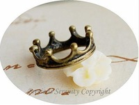 wholeseale a gift for a new year vintage bronze crown