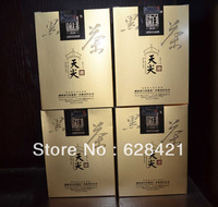 Free shipping(4pcs/lot) Hunan Anhua Baishaxi Health Organic Dark Black Tea Tianjian LooseTea n/w 200g BSX015-2