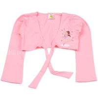 Child ballet dance cape female child dance leotard child cardigan 100% cotton thickening air conditioning cape