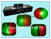 Free Shipping ! Red and Blue Double Head DJ Lighting Disco Stage Light  Laser Light