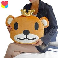 Korean fashion bear pillow headrest cushion toy birthday gift