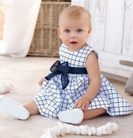 Russian special line  Free shipping Wholesale Children's Baby Girls Dress baby clothes Sleeveless Dress 5pcs/lot