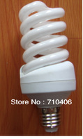 CFL Lamp E27 11Watt,15watt  110V 120V 127Volt warmWhite light 4400K 4500k Spiral CFL Bulb Free shipping