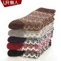 Wool socks female rabbit wool socks lr knee-high female autumn and winter thermal thickening socks cashmere socks