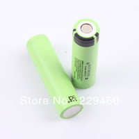 2PCS/lot New Original NCR 18650 3400mAh Li-ion Rechargeable Battery  for Panasonic Free shipping