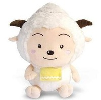 free shipping, Plush toy, lazy goat, birthday gift ,christmas gift, 55cm tall, pleasant goat and big big wolf,lazy sheep