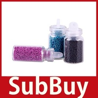 [SubBuy] 12 Color DIY Bottle Ball Bead Nail Art Tips Rhinestone Decoration Manicure Set wholesale
