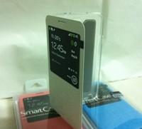 White TPU PC Protector Window Stand Case Cover for Samsung Galaxy Note 3 III N9000 N9002 N9005 N9006 N9008 N9009