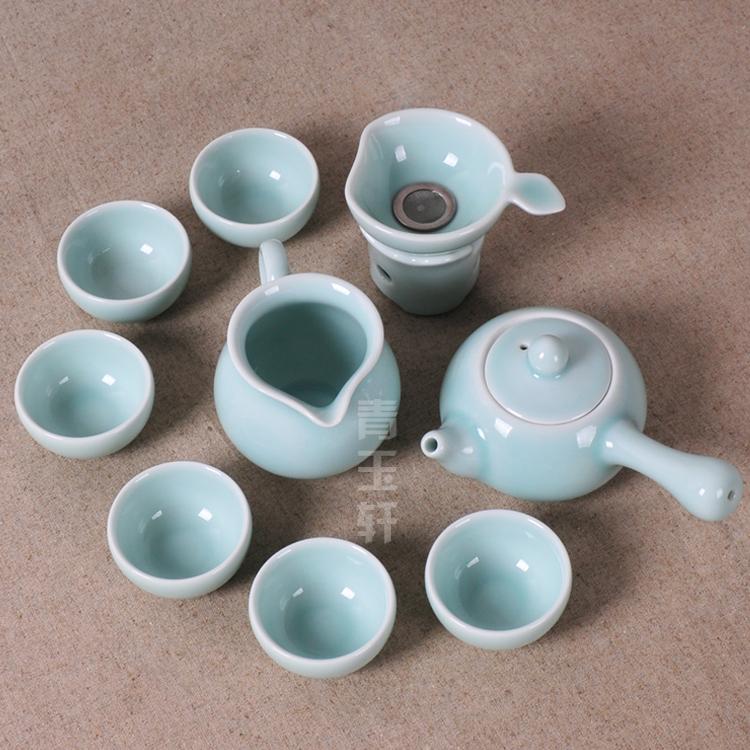 celadon tea set ceramic teapot tea set free shipping