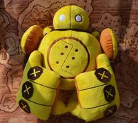 Free shipping 2015 High Quality 35*32*17cm  lol Robot Blitzcrank ETHAFOAM Plush Toys and Dolls