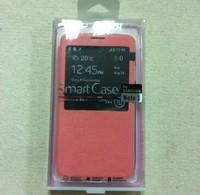Pink TPU PC Protector Window Stand Case Cover for Samsung Galaxy Note 3 III N9000 N9002 N9005 N9006 N9008 N9009