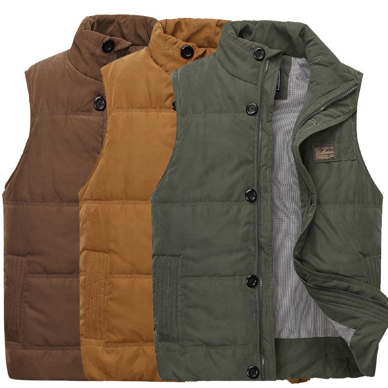 Kostenloser versand winter männer casual ärmellose weste mode top-qualität Brand new herren daunenweste& unten oberbekleidung herrenjacke