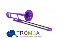 Women's Day Gift, Bb Tenor Plastic Trombone -PURPLE