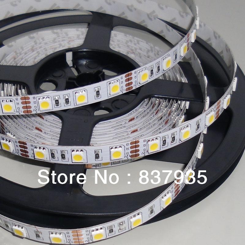 300LEDs/lot SMD5050 RGB/ warm white/ white/ red bule/ yellow LED strip 12V flexible light 30leds/m non-waterproof Christmas(China (Mainland))