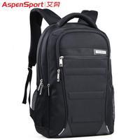 2014 Sale Promotion Zipper Shoulder Bags Men Free Shipping Male Backpack Female Double-shoulder Laptop Bag Man Student School