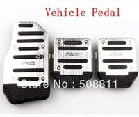 New arrive!!3pcs/lot Car Non-Slip Anti-Slip Pedals Cover Set  Vehicle Pedal  Free drop shipping