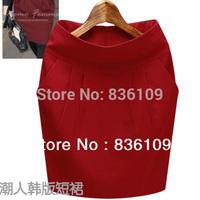 Women's New Winter Woolen Skirt Saias Femininas Korean Style Saias Hip Shorts Feminino A-line Knee Length Plus Size Skirt 1269