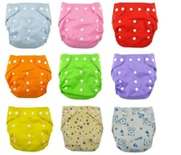 Double Snaps Diaper Covers For Promotion Cloth Diaper nappies Without Inserts 200 Pcs Free Shipping