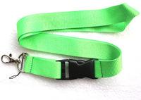 Free shipping 10 pcs green Lanyard Neck Strap Lanyard WHOLESALE