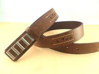Personality strap head brief fashion male strap women's belt
