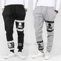 Free shipping 2013 Newest Mens Thickening Sweatpants Warm Slim Fit Trousers Casual Harem Pants Fashion Sport pants X116