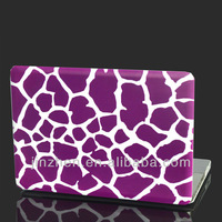 "purple  giraffes  Custom design  rubberized   Hard case cover for macbook pro13""shell"